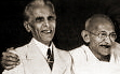 Two Sindhis together, Jinnah & Gandhi