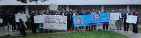 SANA protest