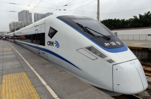 If approved, the new train line could be up and running in five years. IMAGINECHINA/CORBIS
