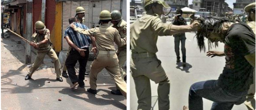 Human rights abuses in Indian held Kashmir.