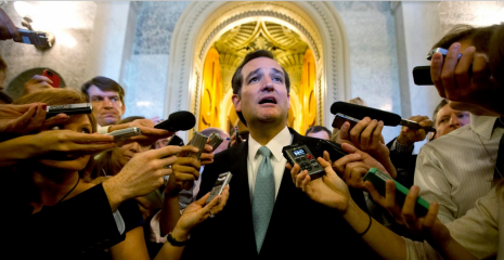 Tell us this, Mr Senator: when will all federal contractors be paid a living wage? Photograph: Jason Reed/Reuters