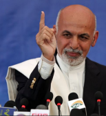 "Afghan President Ashraf Ghani says ""We hoped for peace but we are receiving messages of war from Pakistan."""
